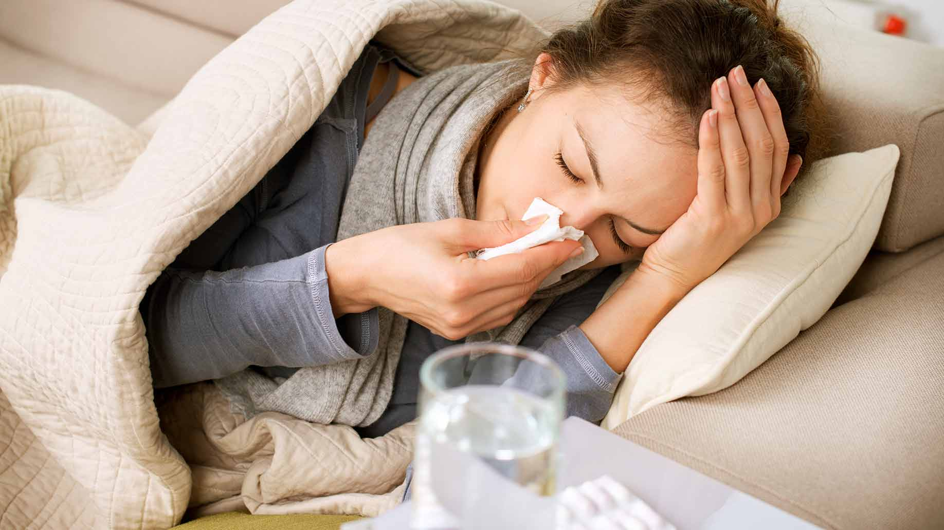 Raceala vs. gripa