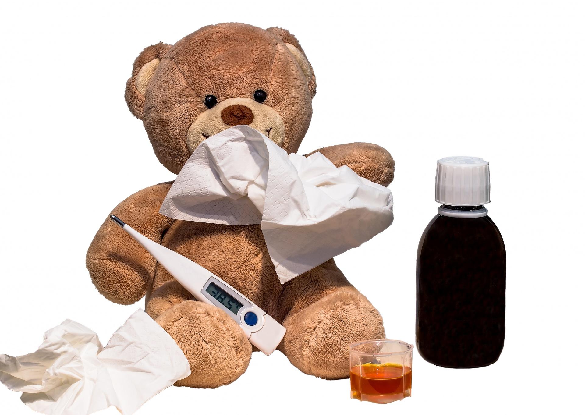 Răceală copil netratată corespunzător complicații